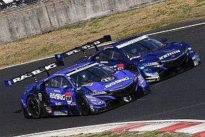 Button stays on top as Super GT test ends