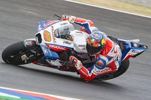 Startopstelling voor de MotoGP Grand Prix van Argentinië