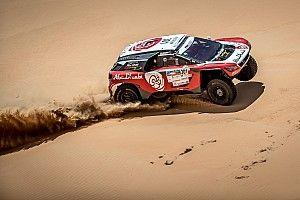 رالي أبوظبي الصحراوي: أربع دقائق تفصل القاسمي عن منصة التتويج في المرحلة الرابعة