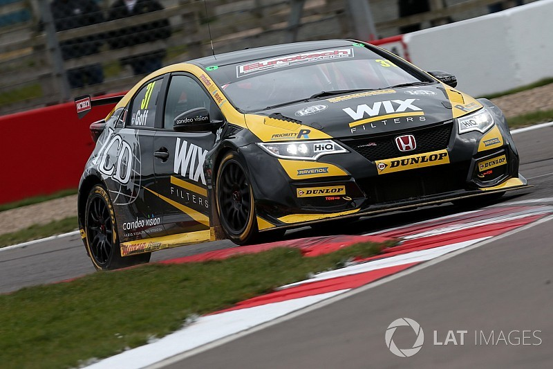 Brands Hatch BTCC: Goff takes pole after Cammish woe