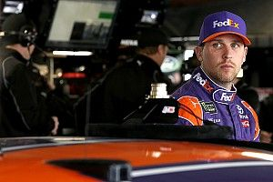 """Hamlin says """"classy"""" move by Harvick knocked him out of contention"""
