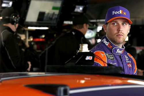 "Hamlin says ""classy"" move by Harvick knocked him out of contention"
