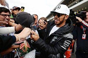 Hamilton popularity reaching Schumacher levels