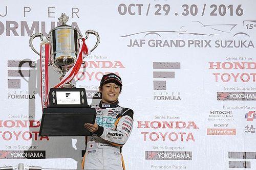 Yuji Kunimoto remporte le titre de Super Formula