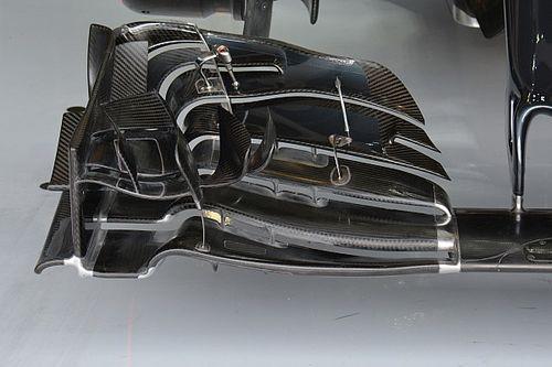 Bite-size tech: McLaren MP4-31 front wing development
