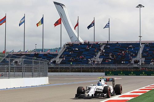 A positive Friday practice for Williams at Sochi