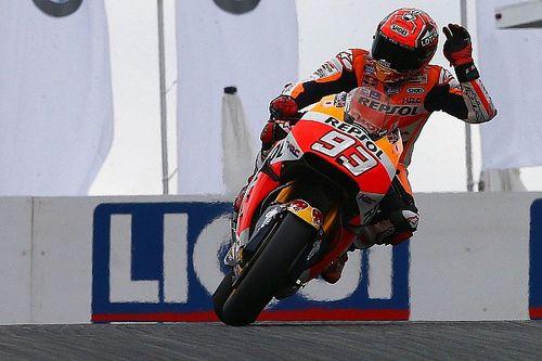 Sachsenring MotoGP: Marquez on pole, Lorenzo crashes twice