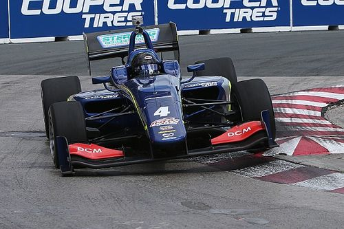 Serralles tops Indy Lights practice at Toronto