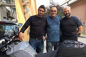 Barkın Bayoğlu ve Fuat Domaniç ciddi bir motosiklet kazası geçirdi