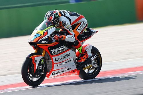 Misano Moto2: Baldassarri catches Rins for maiden win