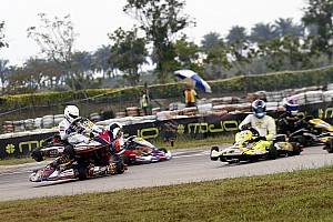 Kart Breaking news Chatterjee unhurt in major crash, Mohsin takes Micro Max title