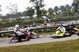 Chatterjee unhurt in major crash, Mohsin takes Micro Max title