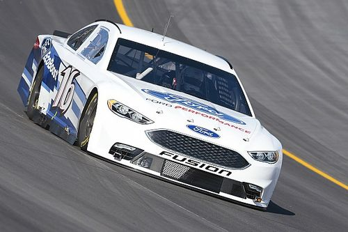 Biffle comes to Kentucky with cautious optimism, despite testing spins