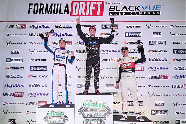 Formula Drift Race report Matt Field takes the Title Fight event victory and Chris Forsberg is crowned champion