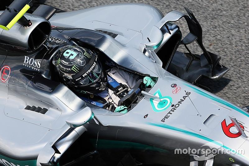 Rosberg returns to action as Barcelona F1 test begins