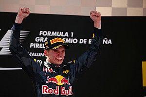 """Verstappen """"cannot believe"""" maiden F1 win"""
