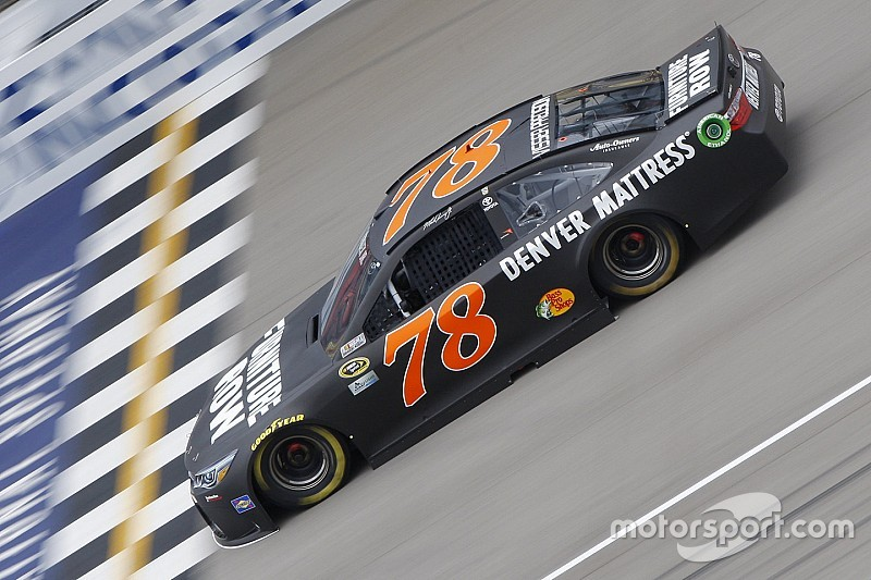 Truex loses pit stall selection for Sunday's race