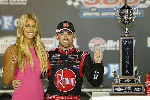 Austin Dillon takes Xfinity win as Busch and Keselowski collide