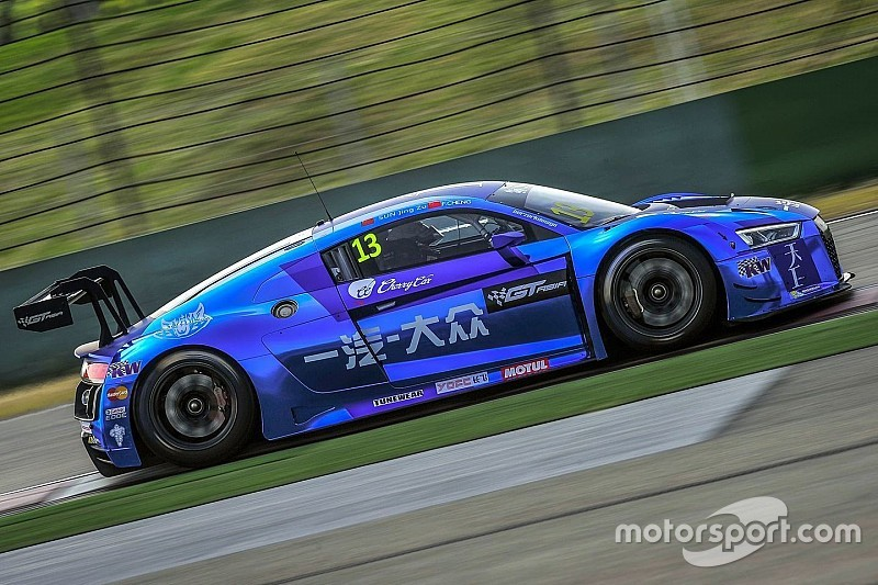 Audis on top early in GT Asia Series Shanghai showdown