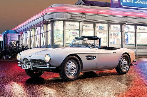 Elvis' BMW 507 lives on: Comeback at the Concours d'Elegance in Pebble Beach