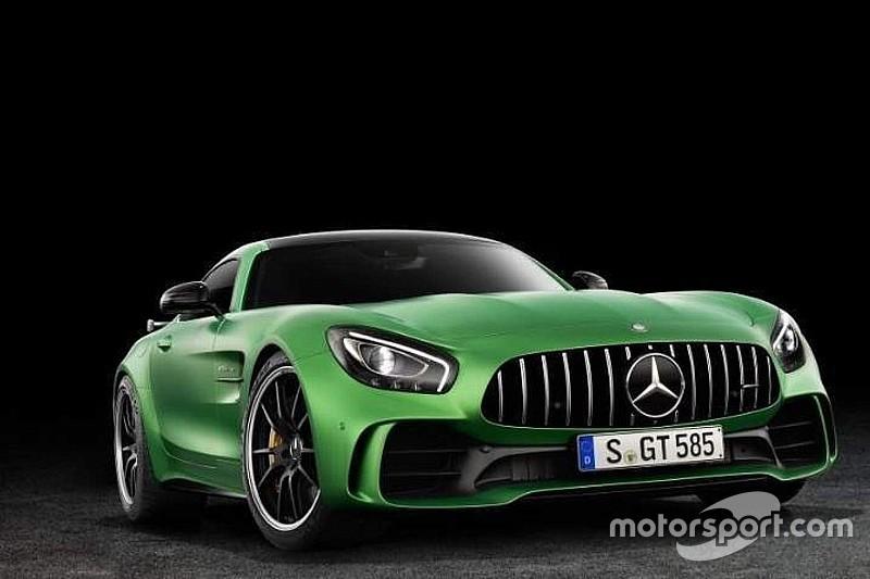 Gelekt: dit zijn de eerste foto's van de Mercedes-AMG GT R