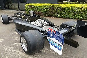 Tyres land for new Formula 5000 car