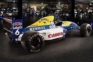 Williams vende carro campeão do mundo em 1992
