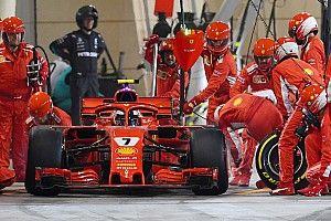 """Kimi se preocupa com mecânico: """"espero que esteja bem"""""""