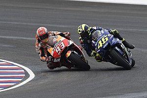 """Contact Márquez-Rossi : """"Un incident de course"""" pour Honda"""