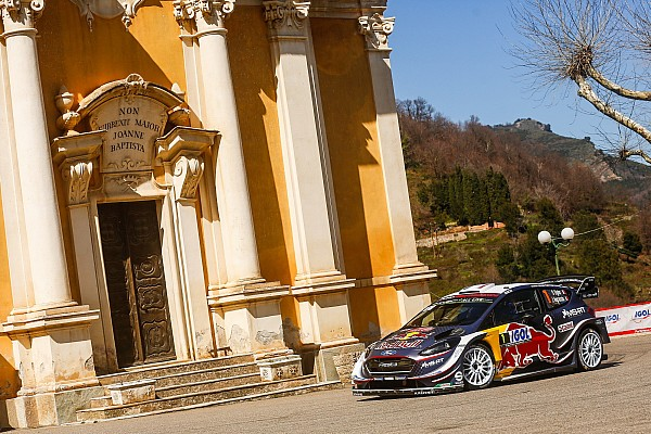 Corsica WRC: Ogier stretches lead, Meeke and Latvala crash