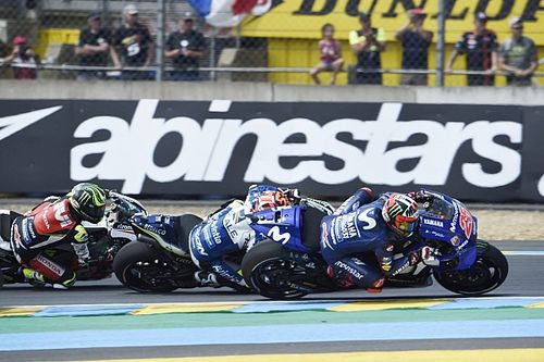 "Vinales ""didn't care"" if he crashed at Le Mans"