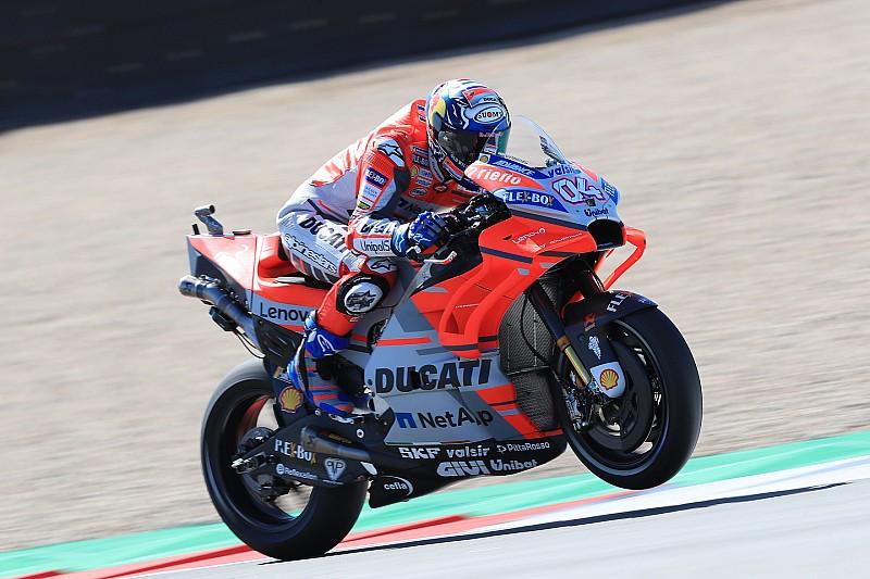 Ducati in Assen: Neues Chassis laut Dovizioso ein Fortschritt