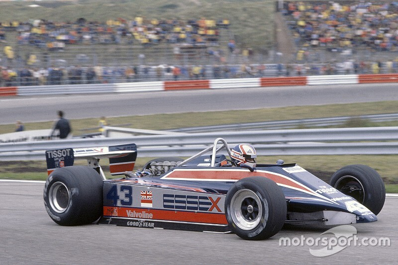 Retro F1 - Nigel Mansell's first Grand Prix