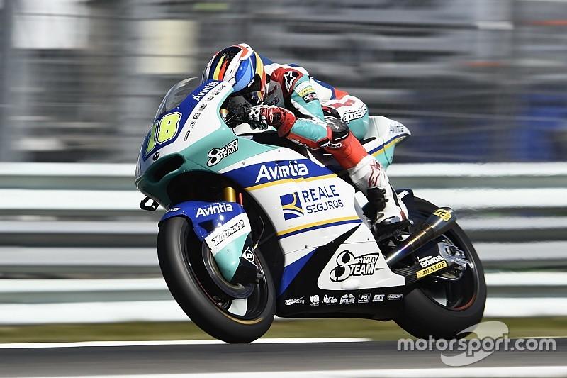 Cardelús se hace con la moto de Fenati para lo que resta de temporada
