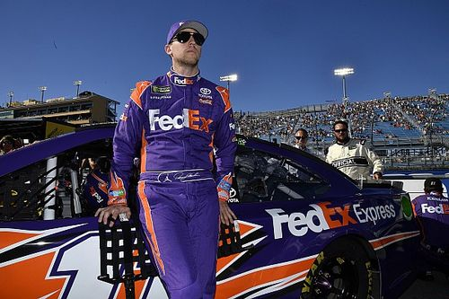 """Denny Hamlin on elusive Cup title: """"It's not been a drag by any means"""""""