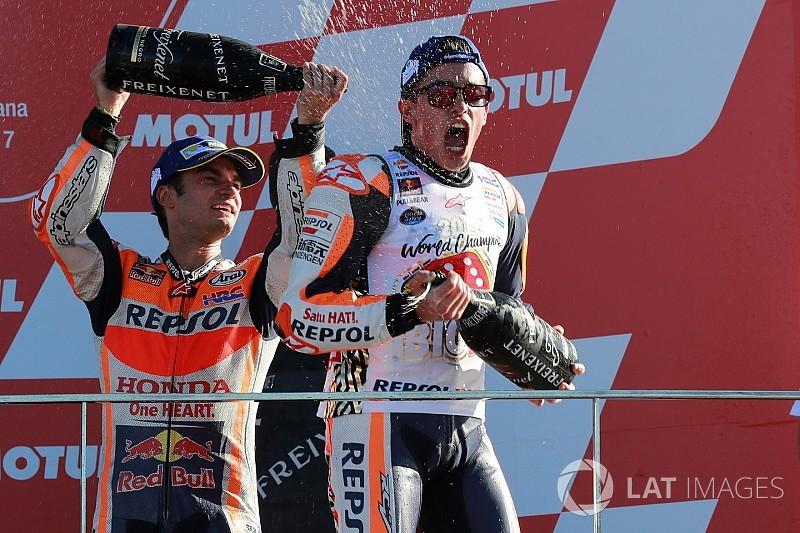 """Márquez: """"He pensado: no suelto la moto ni aunque dé vueltas"""""""
