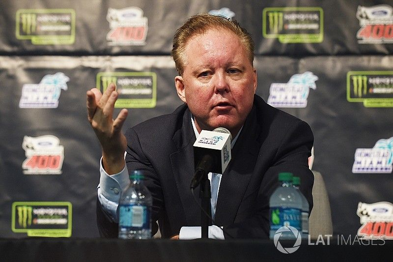 """Brian France: """"We like where we're at and we like where we're going"""""""