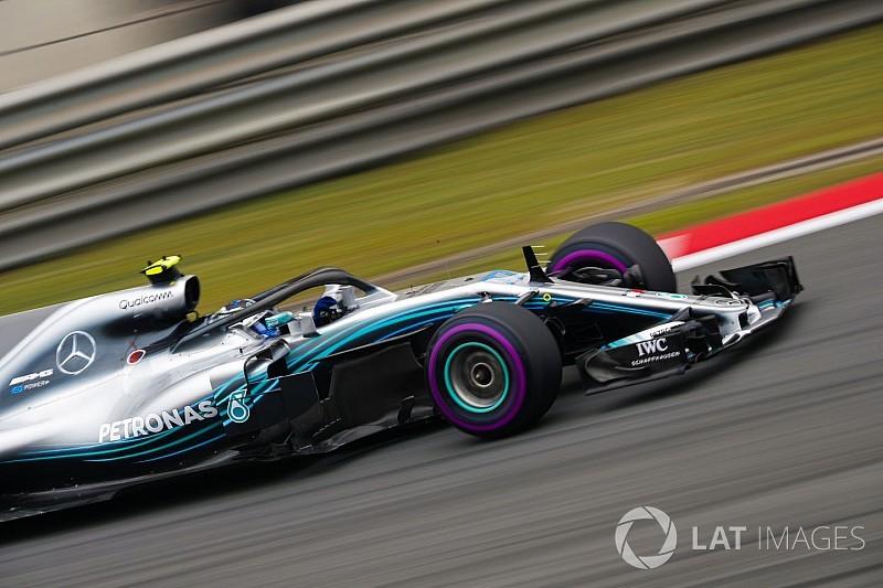 Mercedes culpa a los neumáticos de su derrota del sábado en China