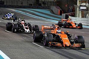 Formel 1 2017 in Abu Dhabi: Die Startaufstellung in Bildern