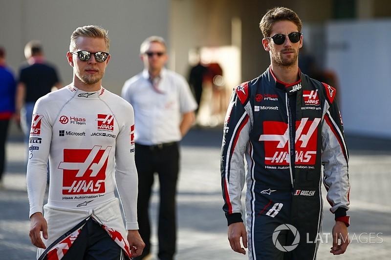 Haas pilotlarından birbirlerine övgü