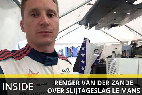 """Opgave Van der Zande na crash teamgenoot: """"Een harde klapper"""""""
