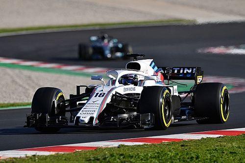 """A széllel küzdött hétfőn a Williams: """"Minden jónak tűnik, egyelőre"""""""