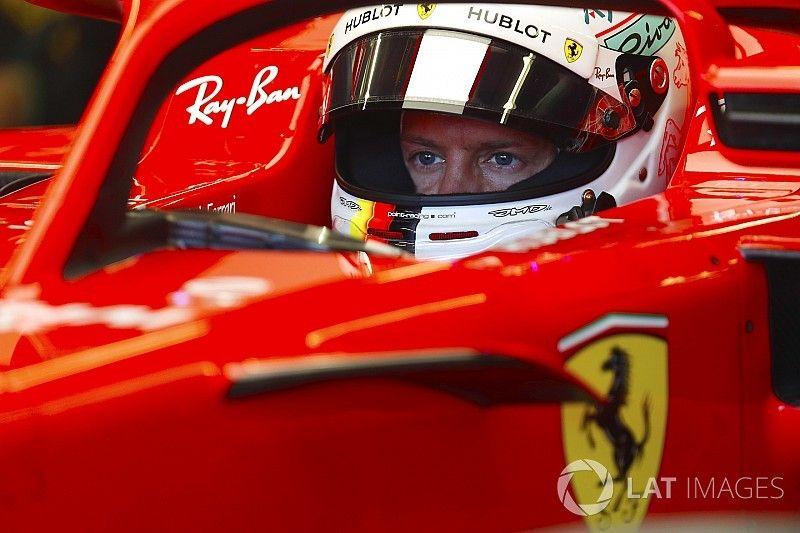 """Vettel: """"Nog niet heel tevreden over gevoel in auto"""""""