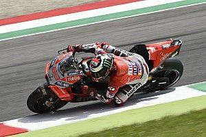 Ducati: Lorenzo stiehlt Dovizioso die Show, Pramac stark
