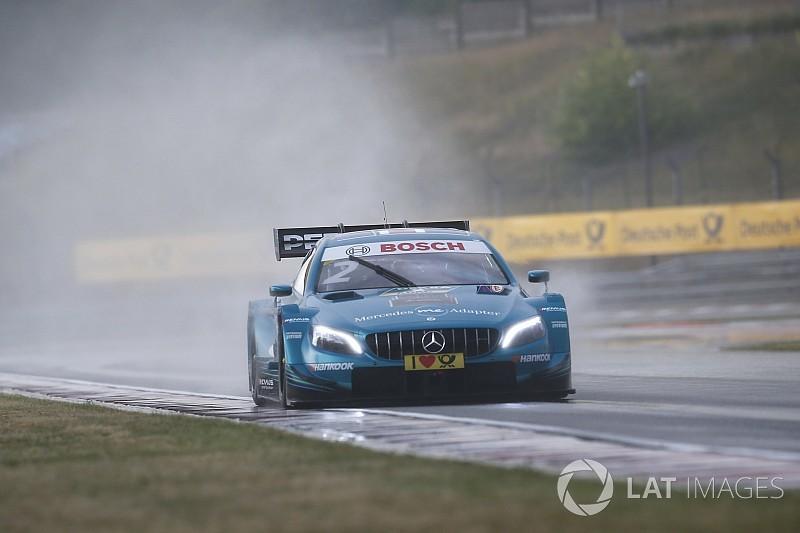 "Paffett livid at ""most embarrassing"" DTM race"