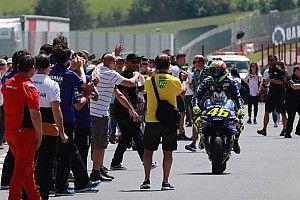 Rossi: Şampiyonluk için yeterince hızlı değilim