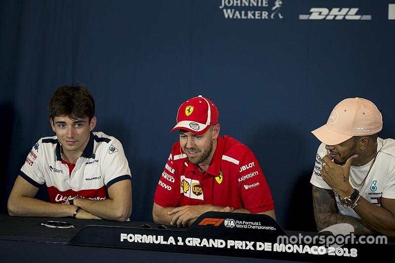 Los consejos de Vettel y Hamilton al joven Leclerc