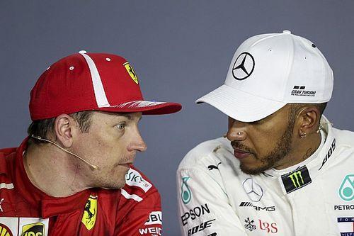 "Hamilton quer ""pagar"" para Raikkonen seguir como mais velho da F1"
