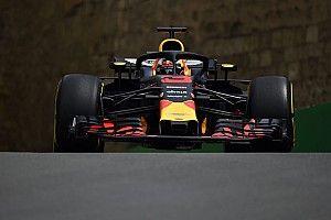 Ricciardo leidt na eerste dag in Baku, derde tijd Verstappen