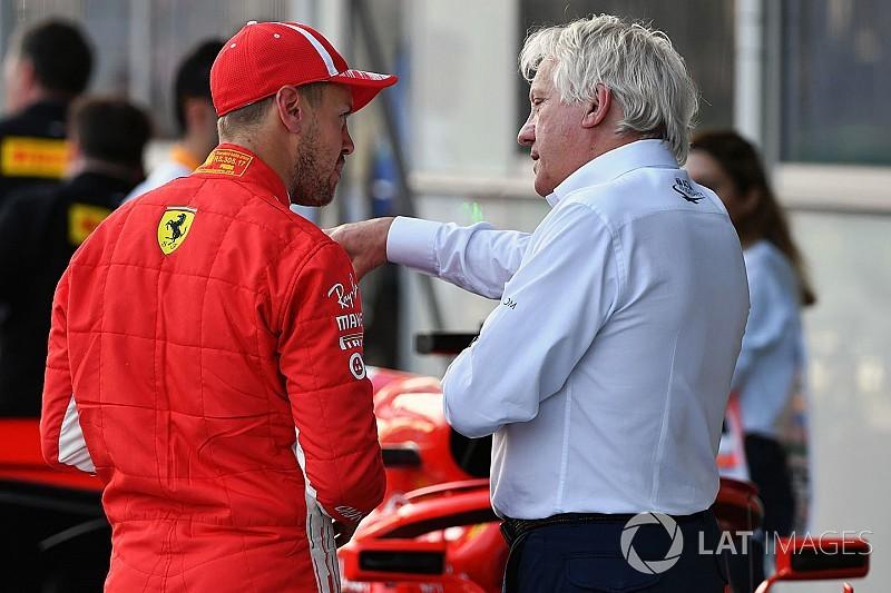 Whiting: Vettel'in ne demek istediğinden emin değilim